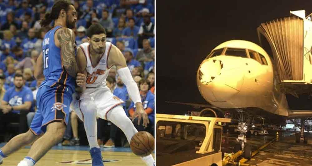 Se estrella avión con jugadores de la NBA