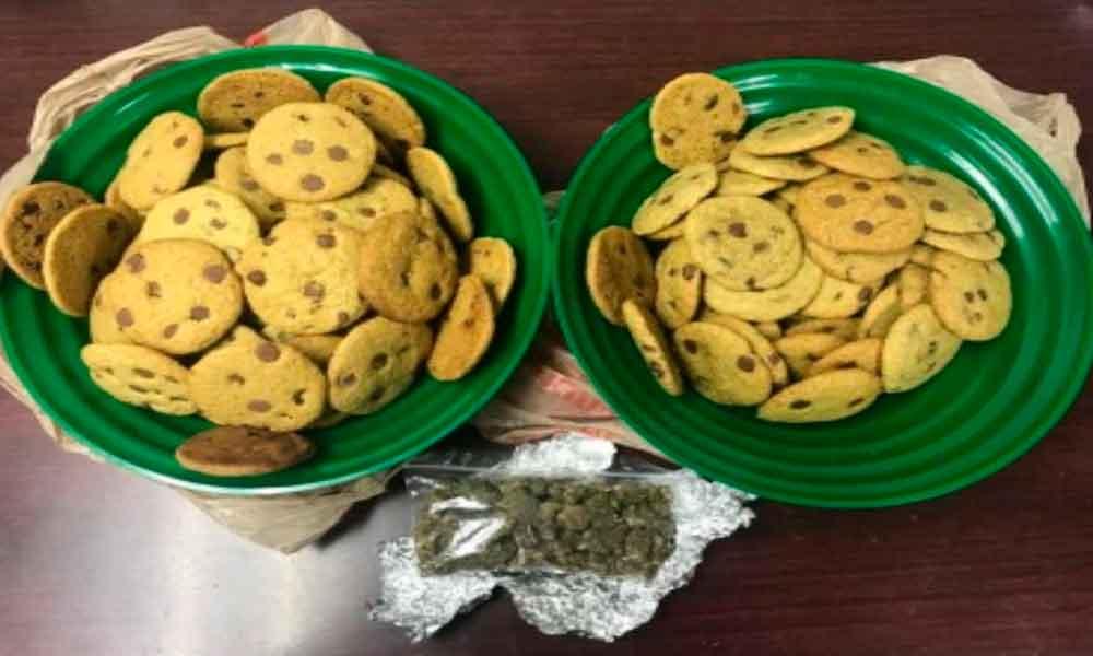 Capturan a pareja de jóvenes con galletas que contenían marihuana