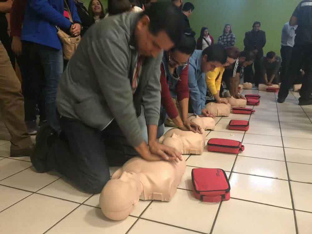 Organizan SEE y sector salud capacitación primer respondiente en Tecate