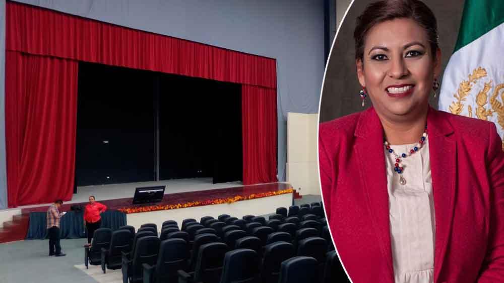 Este 30 de noviembre Nereida Fuentes rendirá su primer informe de Gobierno en el Teatro de la Ciudad