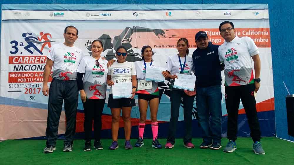 Realiza Gobierno de BC 3ra Carrera Nacional Moviendo a México por tu salud