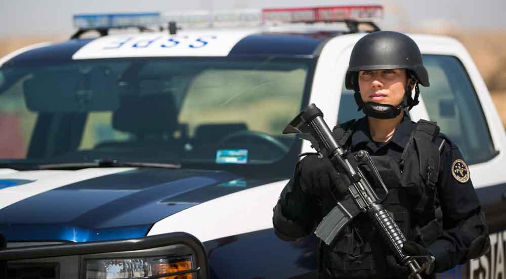 Policía Estatal de Baja California la mejor del país