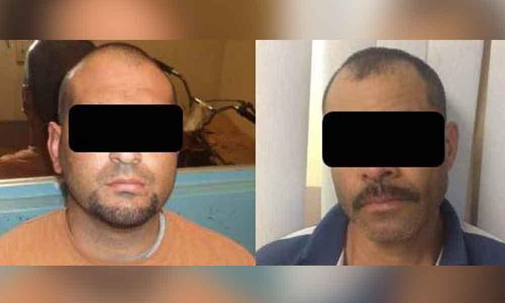Recuperan dos vehículos don reporte de robo en Tecate; dos detenidos