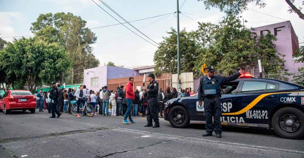 Vuelve a temblar en la Ciudad de México