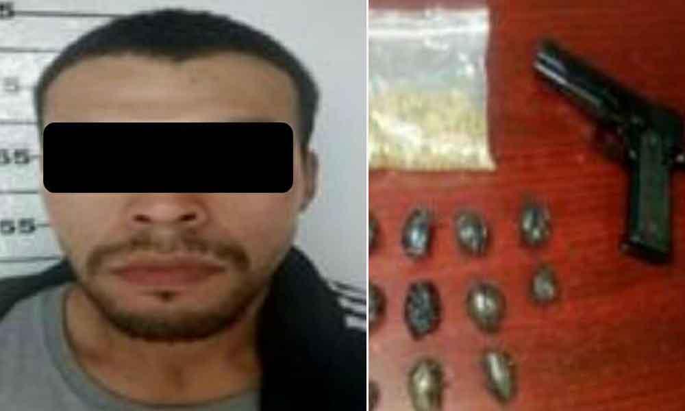 Capturan a sujeto en Ensenada por portar arma de juguete