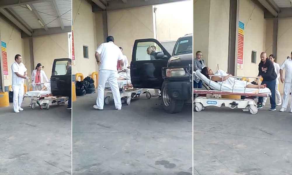 Mujer da a luz en el estacionamiento del Hospital General de Tecate