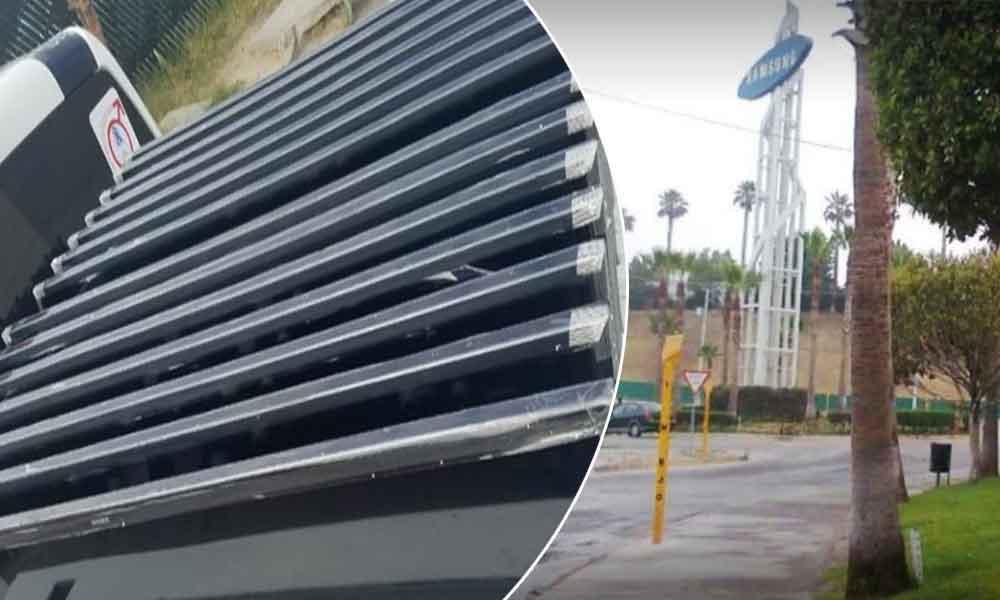 Capturan a 4 empleados de samsung Tijuana por robar 14 televisores de plasma