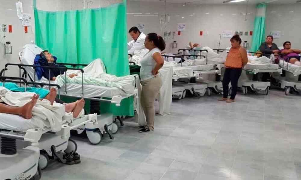 Solo urgencias y hospitalización en el IMSS este 20 de noviembre