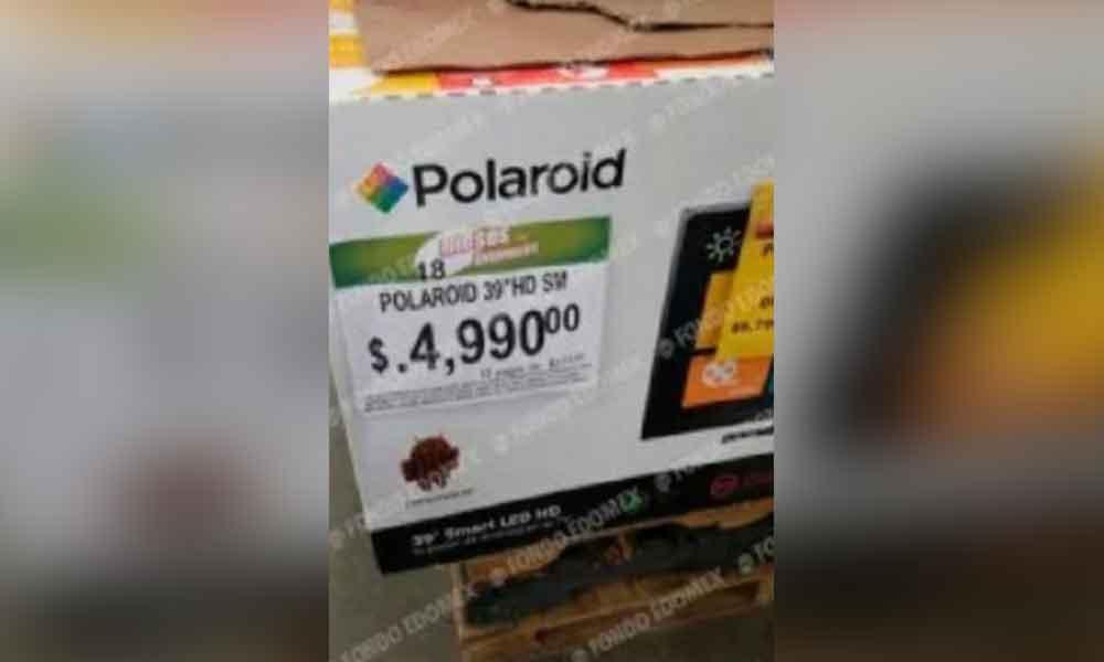 Bodega Aurrerá ofrece por error televisiones a 5 centavos
