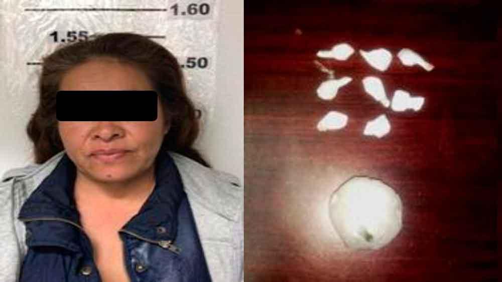 """Mujer portaba más de 100 dosis de """"ICE"""" en Ensenada"""