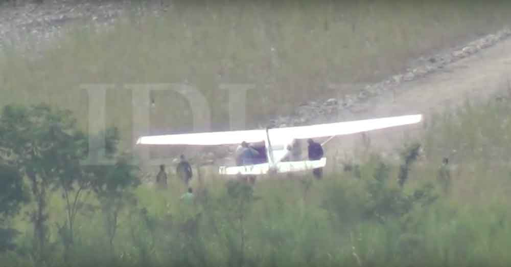 Así cargaron 300 kilogramos de cocaína en un pequeño avión