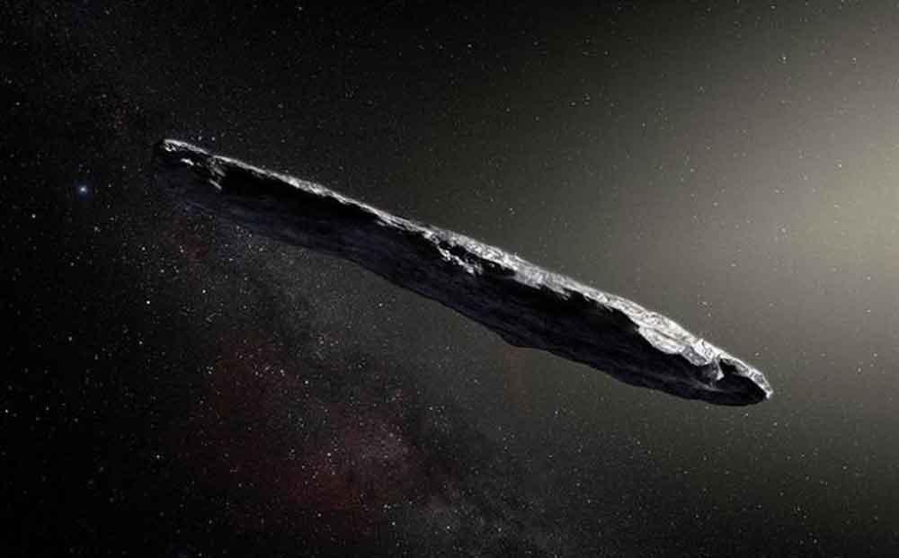 Detectan asteroide proveniente de otro Sistema Solar