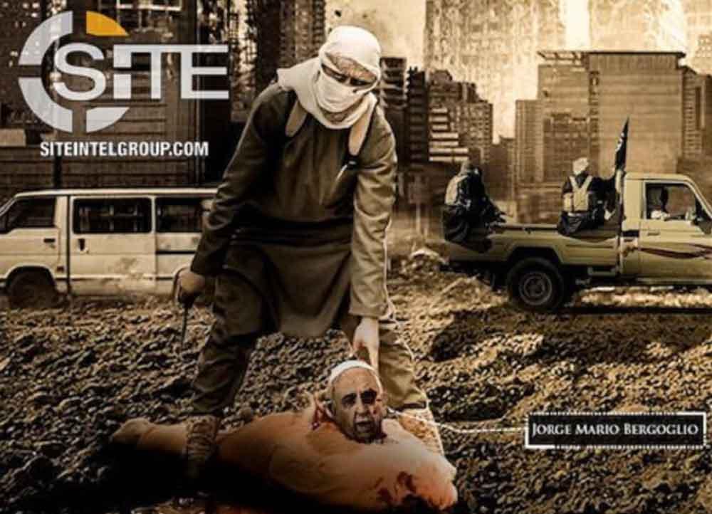 Estado Islámico amenaza al Papa y advierte sobre atentado contra el Vaticano