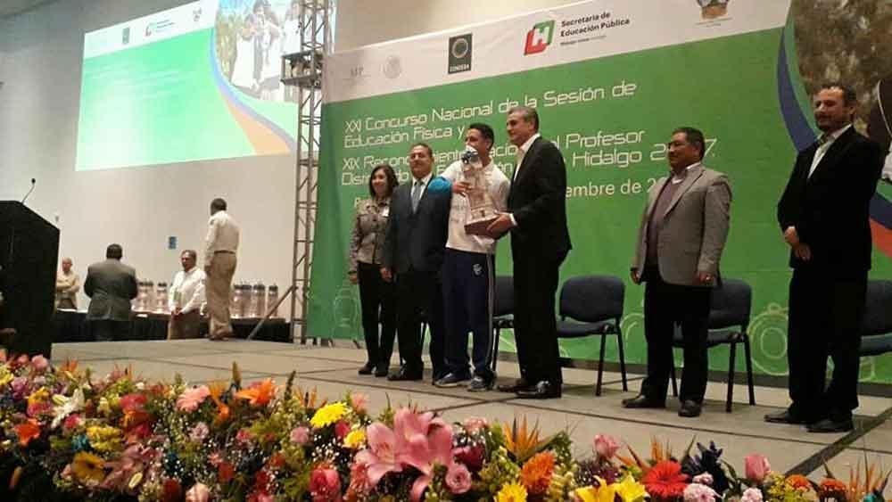 Docente de Tecate obtiene primer lugar en Nacional de Educación Física