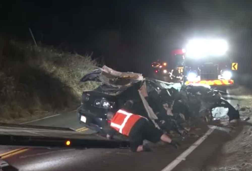 Conductor ebrio impacta vehículo y mata a un pasajero en San Diego