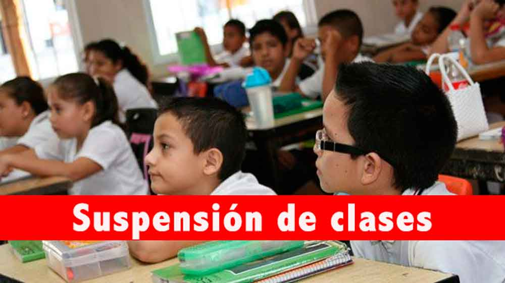 Lunes 04 de diciembre habrá suspensión de clases en escuelas Baja California