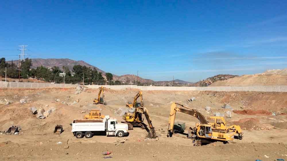 Avanza en un 80% construcción del relleno sanitario en Tecate