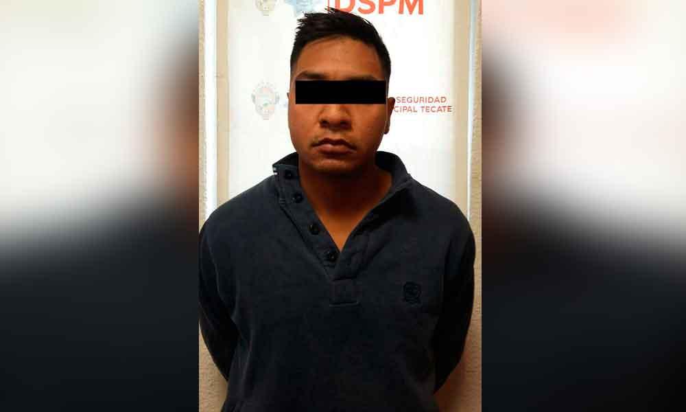 Cae violador de niña de 14 años en Tecate