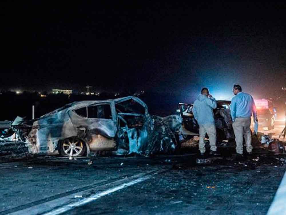 ¡Tragedia! Fatal accidente en carretera de Mexicali deja 4 muertos