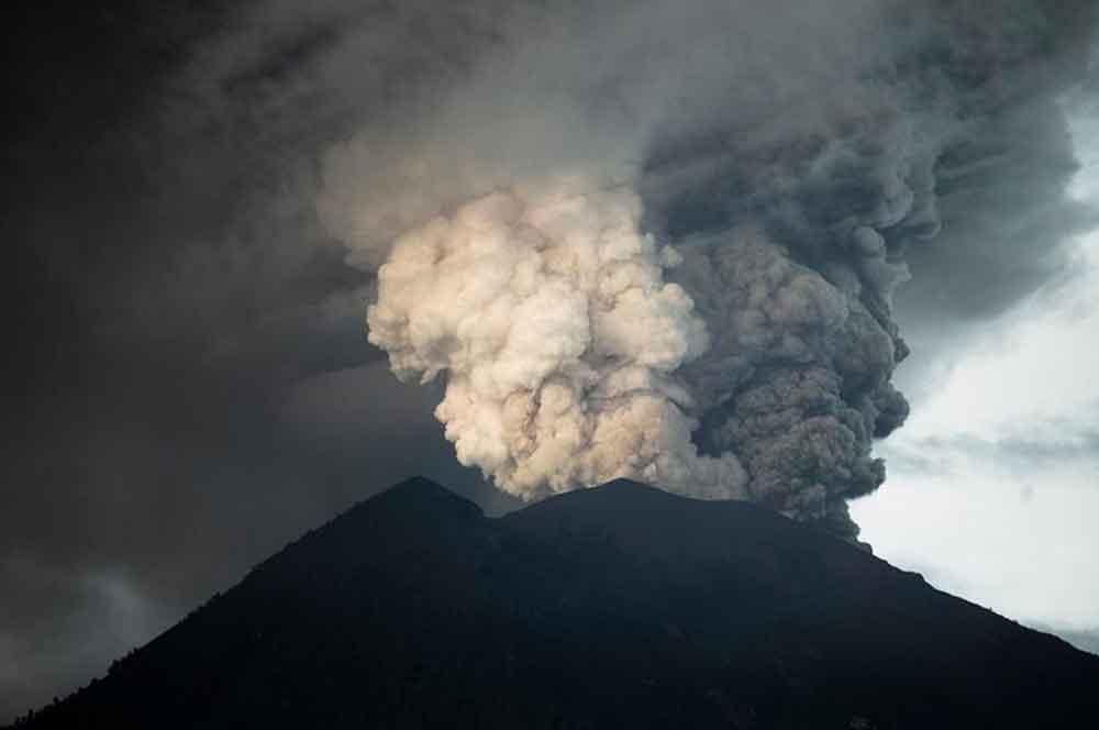 Volcán de Bali podría provocar un cambió climático en todo el planeta