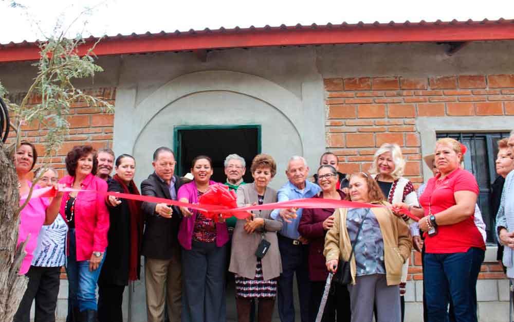 Inaugura Nereida Fuentes club de la alegría en Valle de las Palmas