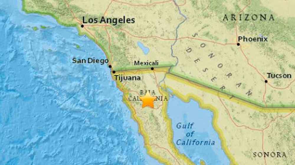 Este fue el extraño fenómeno que estremeció a Baja California; creyeron que era un sismo