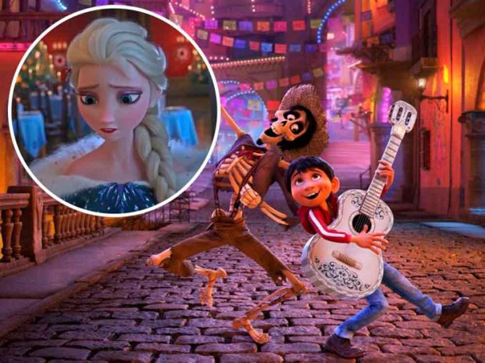 ¡Coco hace justicia! Quitarán corto de Frozen previo a la película