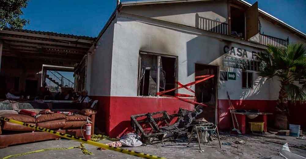 Sin reclamar cuerpos de ancianos fallecidos en incendio en Tijuana