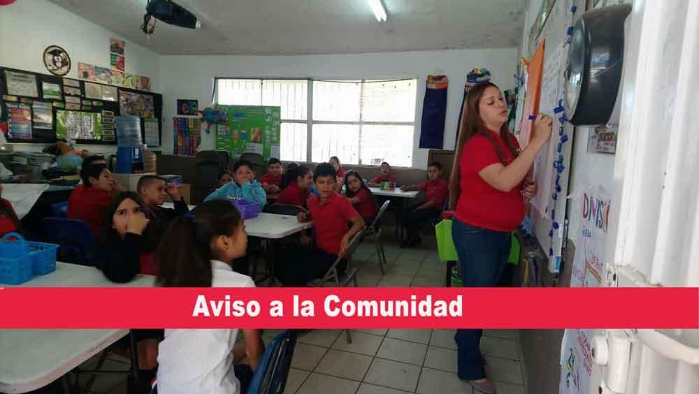 No habrá suspensión de clases por día de muertos en Tecate