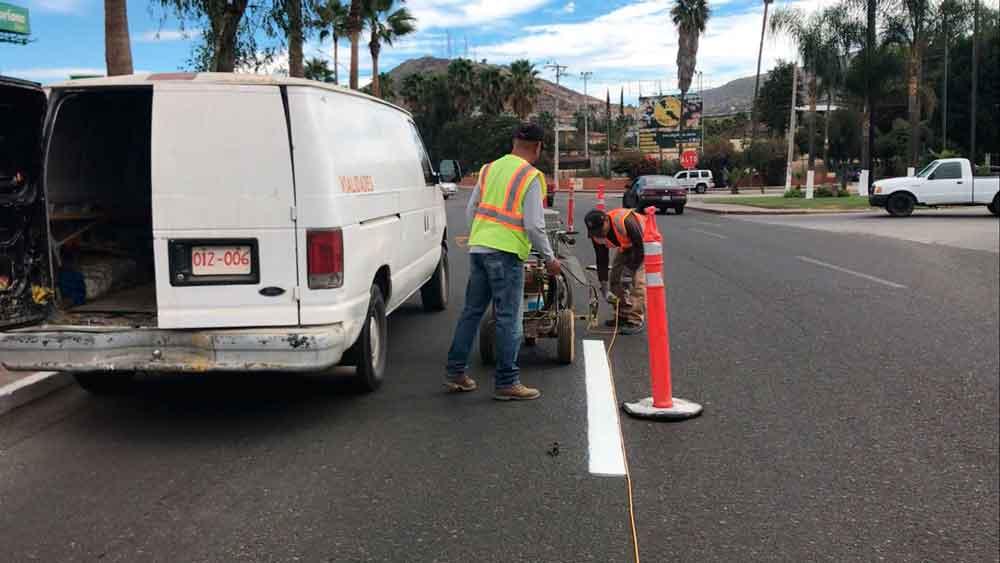 Mantenimiento de calles y avenidas de Tecate es permanente