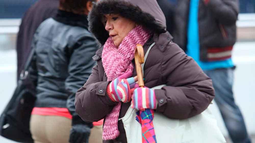 Entra frente frío #9; Viento helado sorprende a chihuahuenses