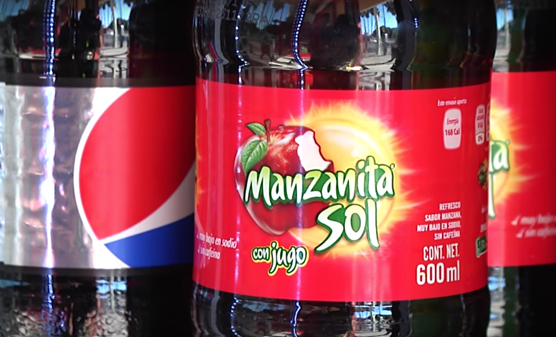 Tras intoxicación, retiran sodas Manzanita Sol en Mexicali