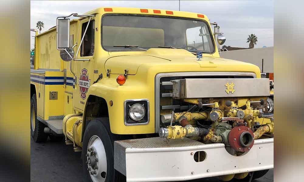 Tecate cuenta con nueva Unidad Tanque Pipa donada por el Departamento de Bomberos de Washington, D.C.