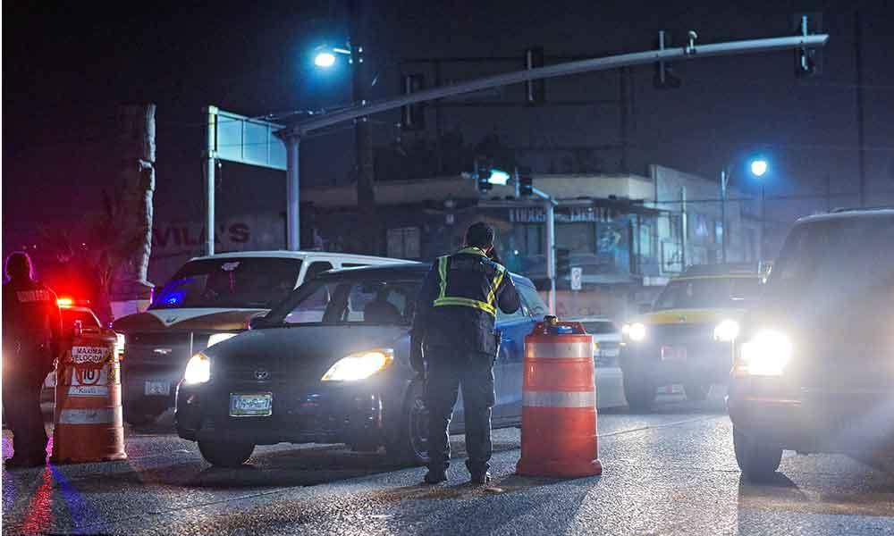 Prepara Tijuana 20 filtros de vigilancia con operativo navideños; Tres serán de alcoholímetro