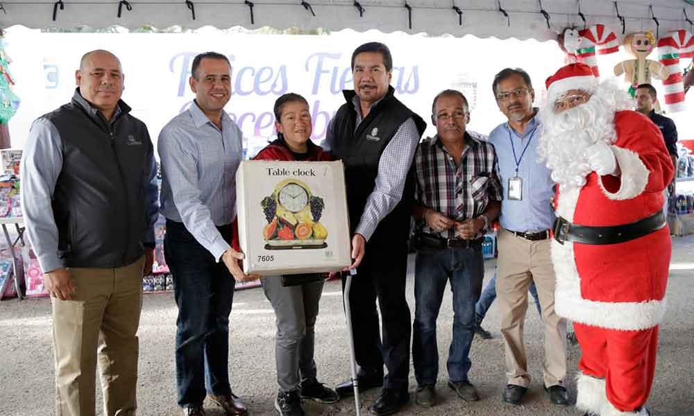 Celebra Gobierno del Estado a Tijuanenses con posadas navideñas en sus comunidades