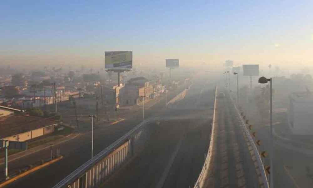 La calidad del aire en Mexicali es crítica, es considerada la ciudad más contaminada de la frontera norte