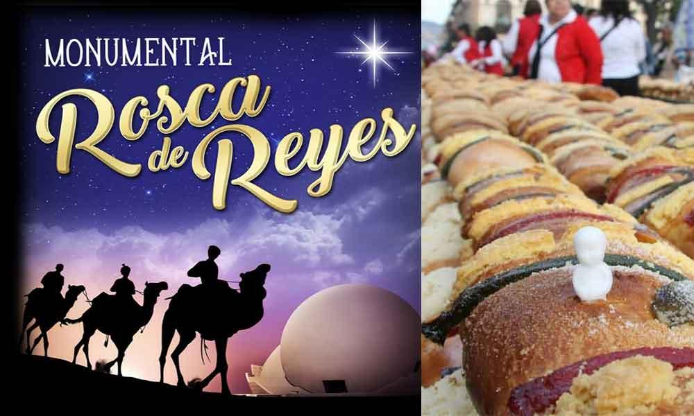Invita CECUT a celebrar el Día de Reyes con su tradicional rosca monumental