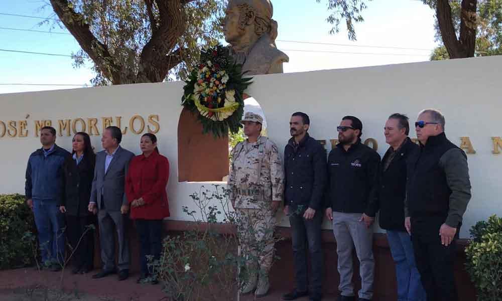"""Ayuntamiento de Tecate conmemora el 202 Aniversario Luctuoso de Don José María Morelos y Pavón """"Siervo de la Nación"""""""