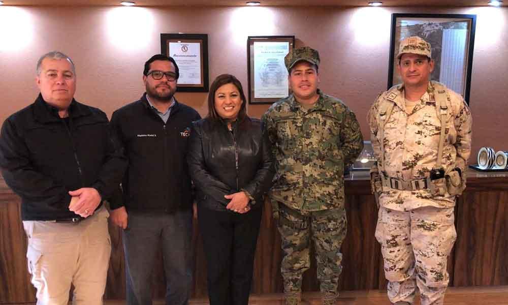 Fortalecerán Ayuntamiento, SEDENA y SEMAR acciones por la seguridad de Tecate