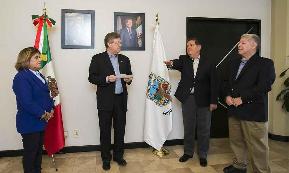 Nombra Gobernador Francisco Vega a Alfonso Padrés Pesqueira como Secretario de la SIDUE en Baja California