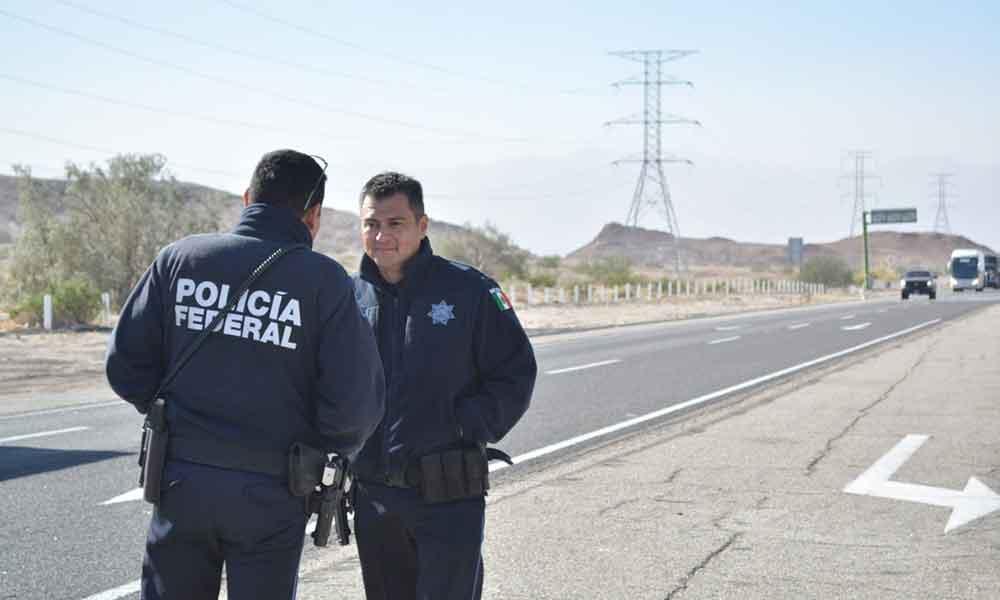Inicia SCT operativo en coordinación con la Policía Federal
