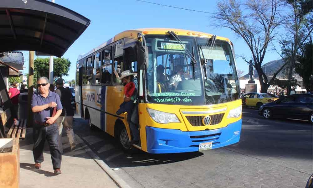 Transporte público reducirá horarios de servicio durante el fin de semana de fin de año en Tecate