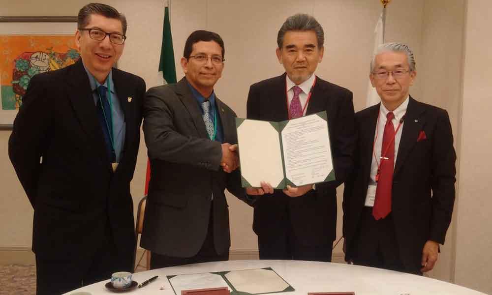 UABC firma convenio con la Universidad de Hiroshima, con ello se amplia la oferta de intercambio académico e investigación