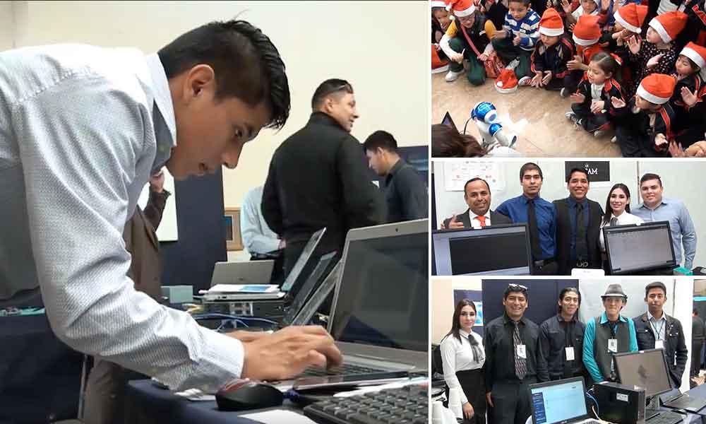 Presentan alumnos de UTT proyectos innovación en Tecnologías de la Información y Comunicación