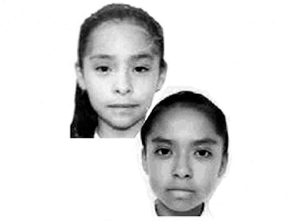 Alerta Amber: Dos hermanitas se encuentran desaparecidas