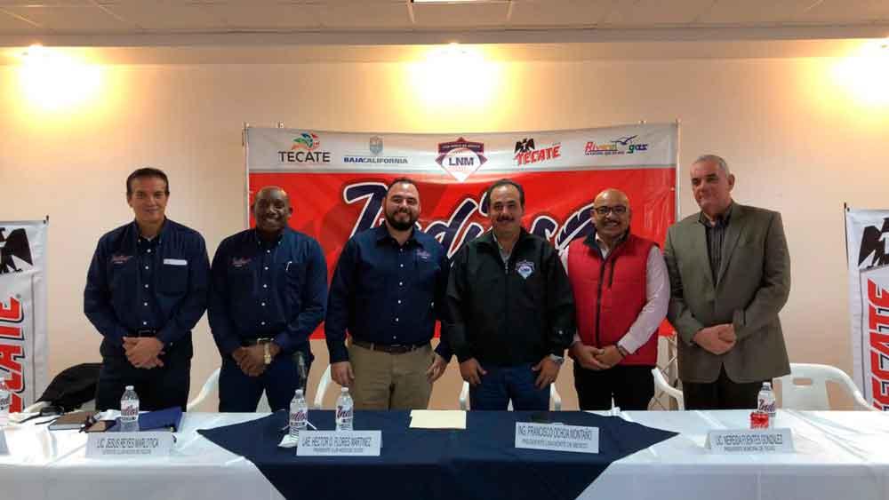 Regresa al Pueblo Mágico el béisbol profesional; Presentan a Indios Tecate