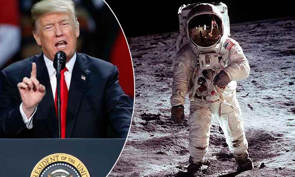 Trump retomará misiones tripuladas a la Luna