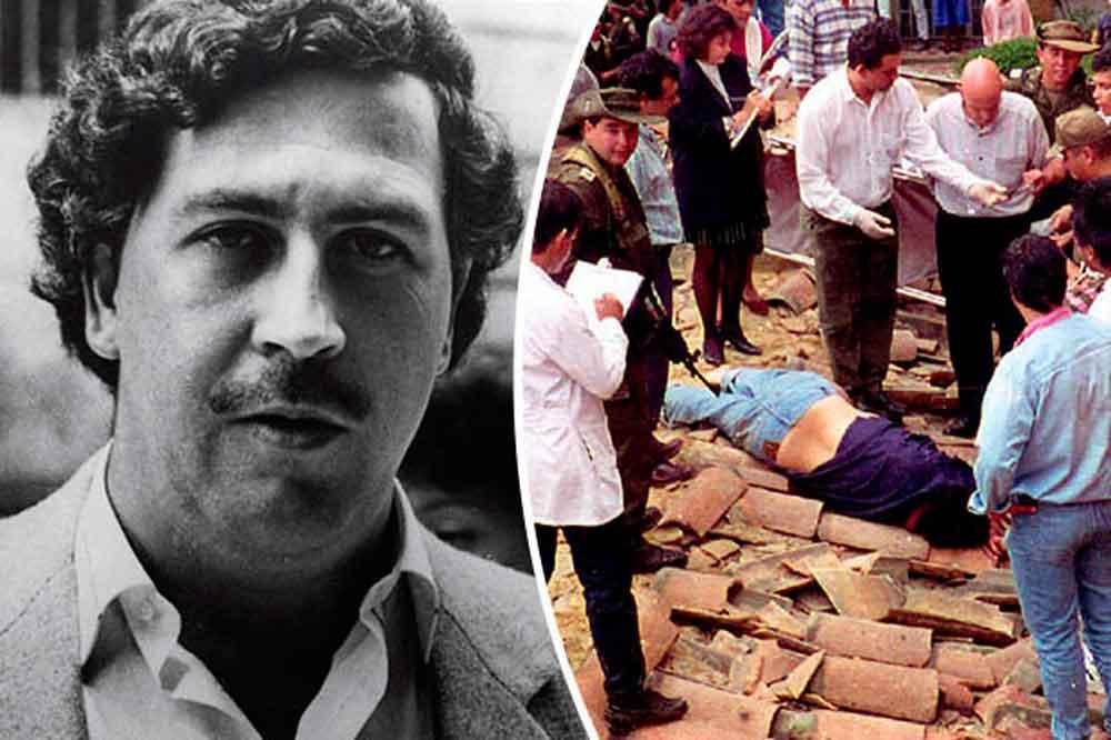 Revelan verdadera causa de muerte de Pablo Escobar