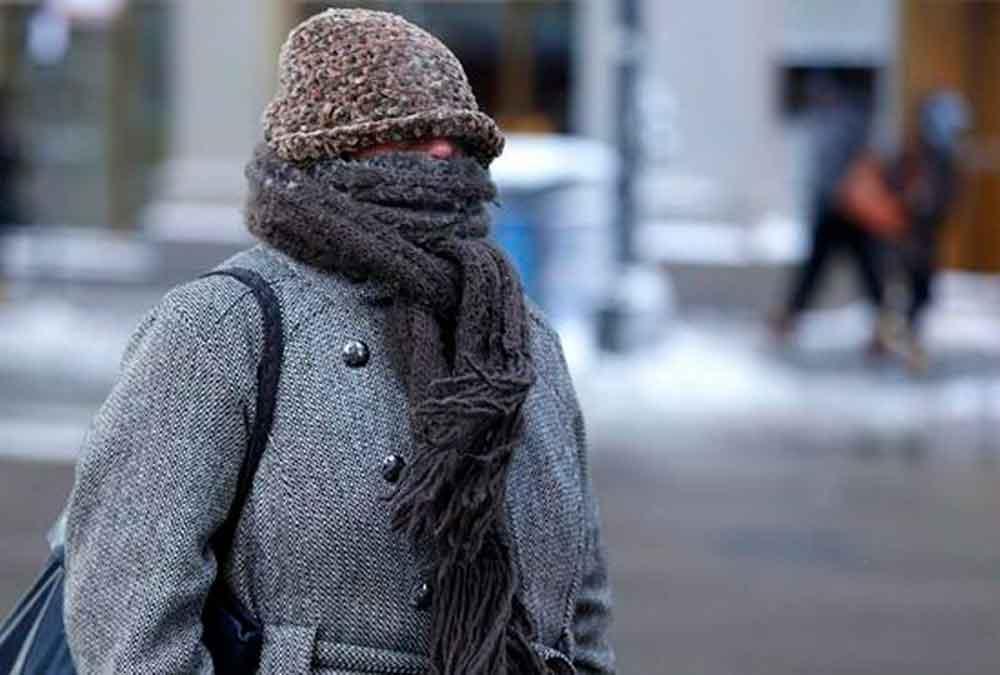 Alertan por temperaturas por debajo de los cero grados en 12 estados