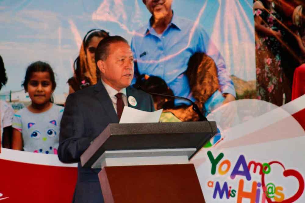 Rindió Primer Informe de Labores, Marco Antonio Lizárraga, Presidente del DIF Tecate